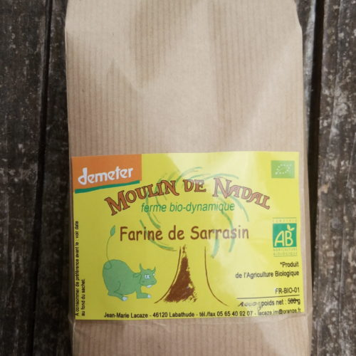 Farine de sarrasin - Ferme biodynamique Moulin de Nadal