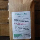 Farine de blé T80 bio d'EARL Boubes