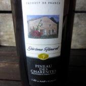 Pineau des Charentes rouge de Jérôme Fleuret