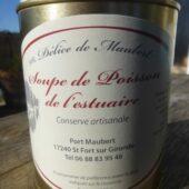 Soupe de poissons de l'estuaire Délice de Maubert