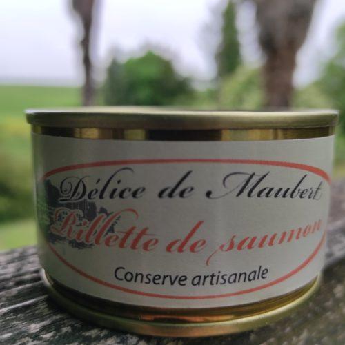 Rillettes de saumon - Délice de Maubert