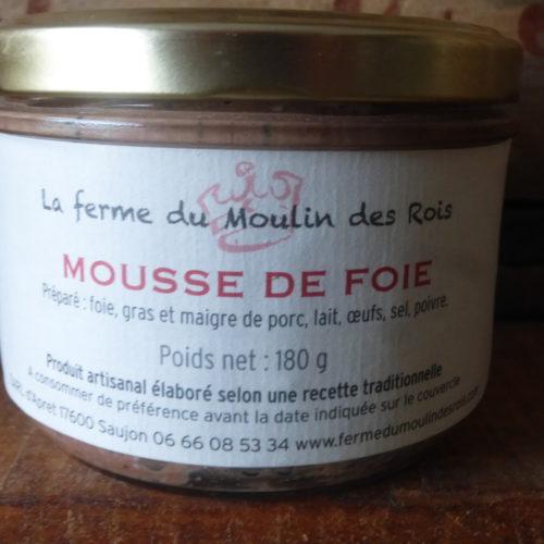 Mousse de foie de la Ferme du Moulin des Rois