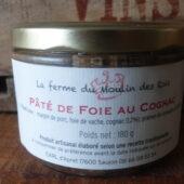 Pâté de foie au cognac de la Ferme du Moulin des Rois