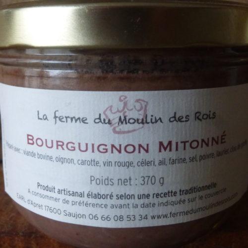 Bourguignon mitonné de la Ferme du Moulin des Rois