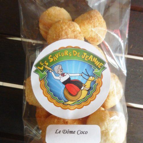 """""""Le Dôme Coco"""" Gâteaux artisanaux Les Saveurs de Jeanne"""
