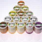 Gamme yaourts bio Ana & Robie