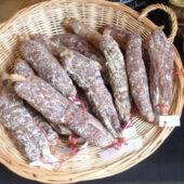Saucisson pur porc La Ferme du Moulin des Rois