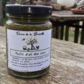 Pesto d'ail des ours - Ferme de la Brunette