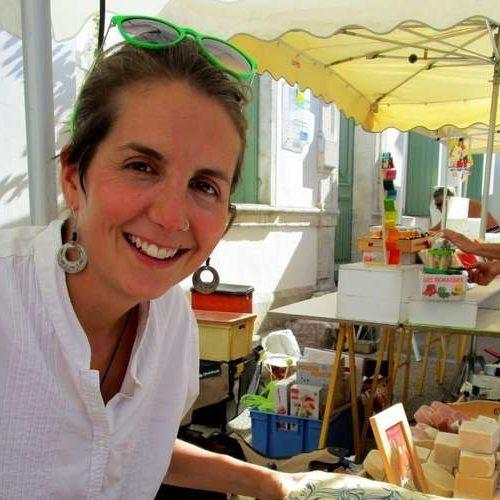 Amélie Boué, savonnière mobile à Rochefort