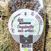 """Pâtes artisanales bio blé tendre """"Coquinettes aux orties"""" - Epicoeur"""