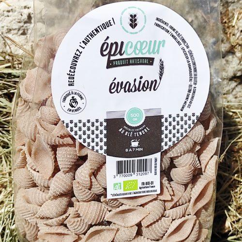 """Pâtes artisanales bio blé tendre """"Evasion"""" - Epicoeur"""