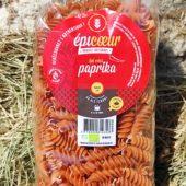 """Pâtes artisanales bio blé tendre """"Paprika"""" - Epicoeur"""