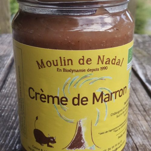 Crème de marrons biodynamie - Moulin de Nadal