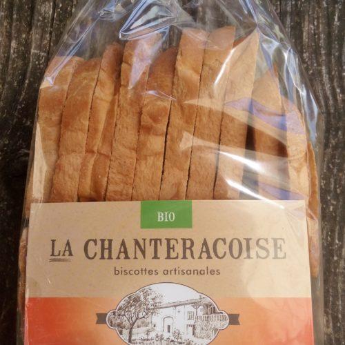 "Biscottes artisanales ""Essentielle"" Bio - La Chanteracoise"