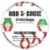 Yaourt vache bio Fruits Rouges - Ana et Robie