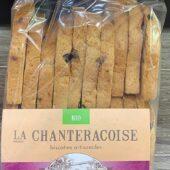 "Biscottes artisanales ""Muesli Gourmand"" Bio - La Chanteracoise"