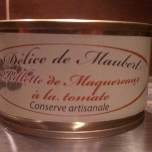Rillettes de maquereaux à la tomate - Délice de Maubert