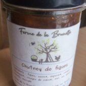 Chutney de figues - Ferme de la Brunette
