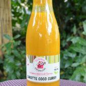 Soupe bio Carotte Coco Curry - La Cocotte Gourmande