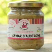 Caviar d'aubergines bio - La Cocotte Gourmande