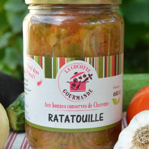 Ratatouille bio - La Cocotte Gourmande