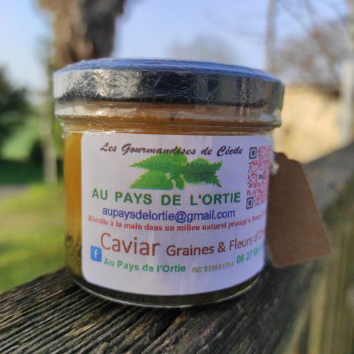 Caviar Graines et Fleurs d'ortie - Au Pays de l'ortie