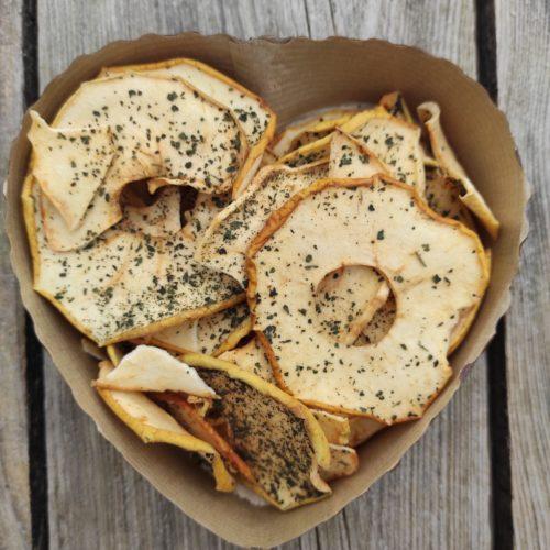 Chips pommes orties - Au pays de l'ortie