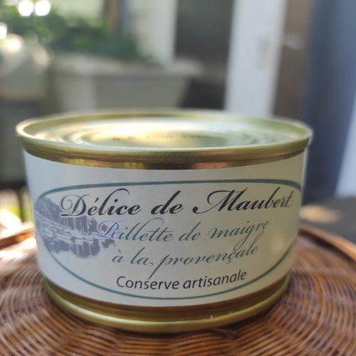 Rillette de maigre à la provençale - Délice de Maubert