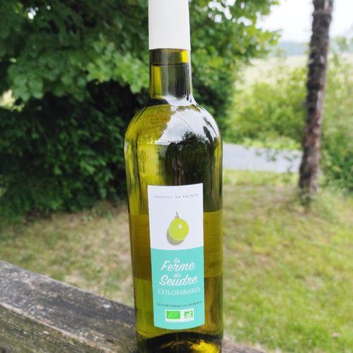 Vin blanc bio Colombard - La Ferme du Seudred