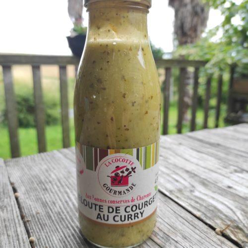 Velouté de courgette au curry bio - La Cocotte Gourmande